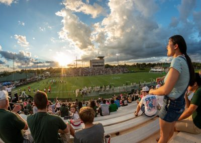 Spec Martin Memorial Stadium, Stetson Hatters Fans Looking On