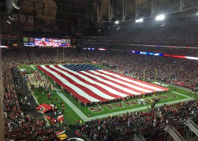 National Anthem at University of Phoenix Stadium