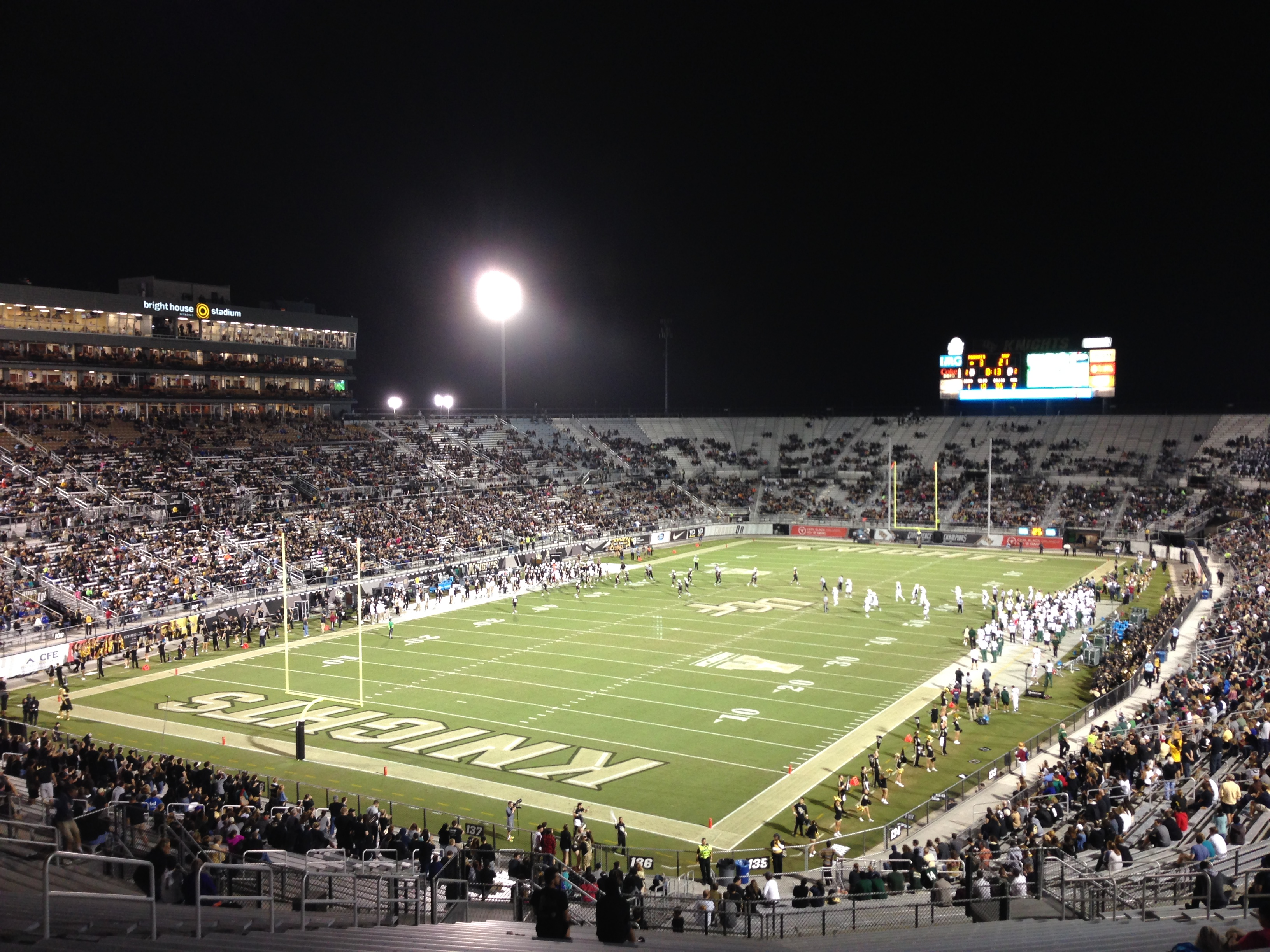 Bright house networks stadium ucf knights stadium journey for Right house