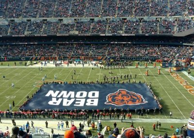 Soldier Field Bear Down