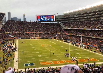 Soldier Field End Zone Day View
