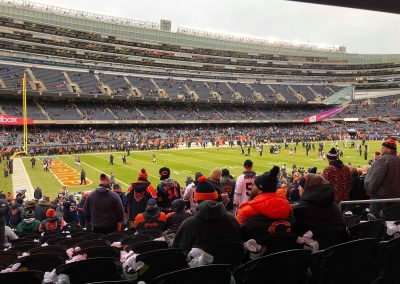 Soldier Field Side View