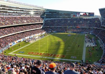 Inside Soldier Field