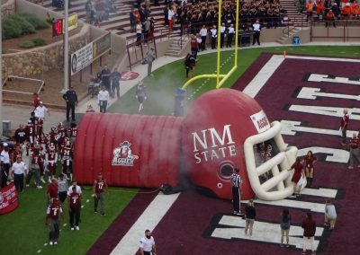 Aggies Take the Field at Aggie Memorial Stadium