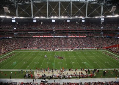 Mid Field View at University of Phoenix Stadium, Home of the Fiesta Bowl