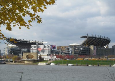 Heinz Field From Across the River