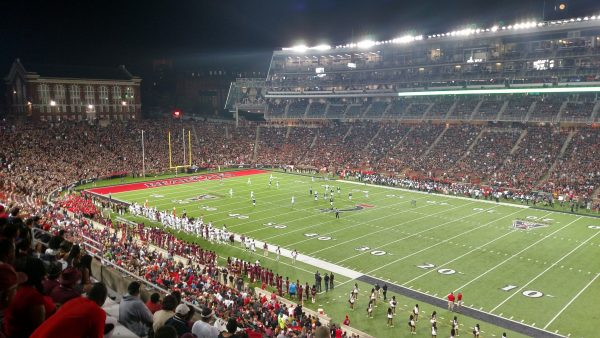 A Full House at Nippert Stadium by Brandon Gee