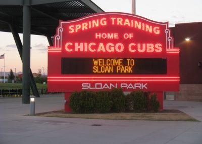 Sloan Park Marquee Daytime