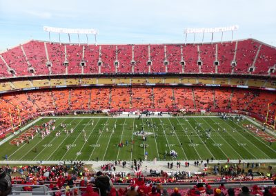 Pre Game Inside Arrowhead Stadium