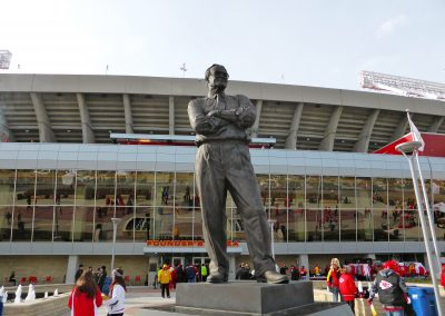 Arrowhead Stadium Lamar Hunt Statue