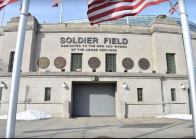 Soldier Field Iconic Entrance