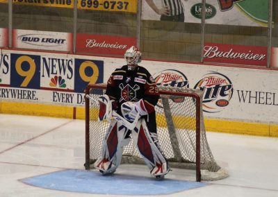 Wheeling Nailers Goalie