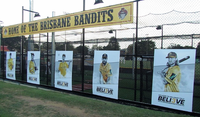 Holloway Field – Brisbane Bandits