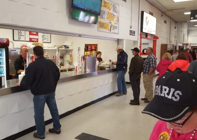 Holt Arena, concessions