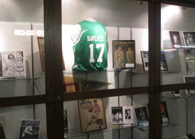 John Havlicek Display at WesBanco Arena