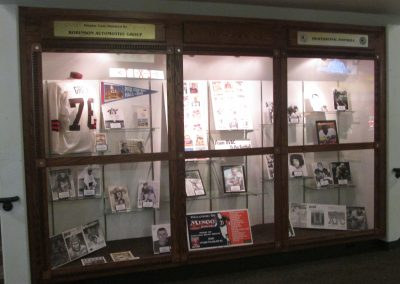 Lou Groza Display at WesBanco Arena