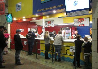 WesBanco Arena Concession Stand