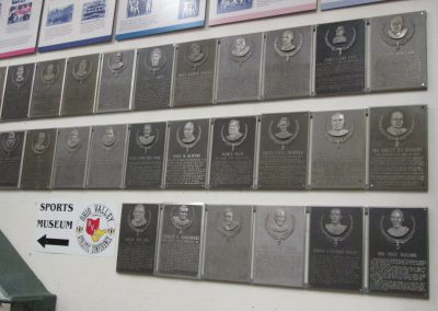 Ohio Valley Hall of Fame Plaques