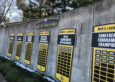 Johnny Unitas Stadium - Wall Of Excellence