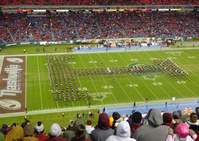 Bands Perform at Nissan Stadium during the Music City Bowl