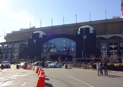 Belk Bowl at Bank of America Stadium, Exterior