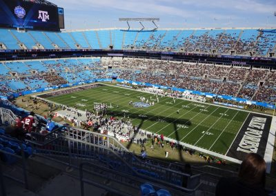 Belk Bowl at Bank of America Stadium, Interior