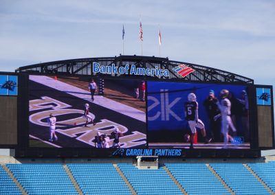 Belk Bowl at Bank of America Stadium, Scoreboard