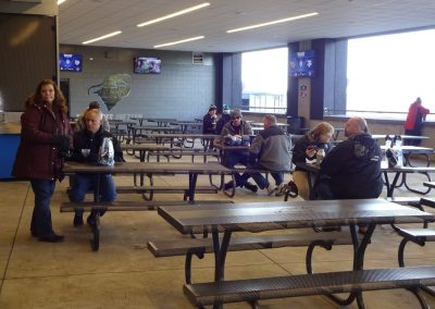 Belk Bowl at Bank of America Stadium, Tables in the Concourse