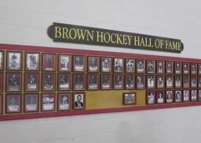 Brown Hockey Hall of Fame at Meehan Auditorium