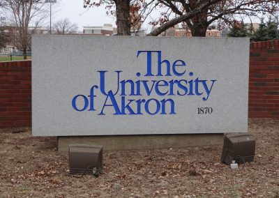 InfoCision Stadium, Welcome to the University of Akron