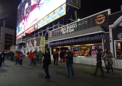 Nissan Stadium Concourse during the Music City Bowl