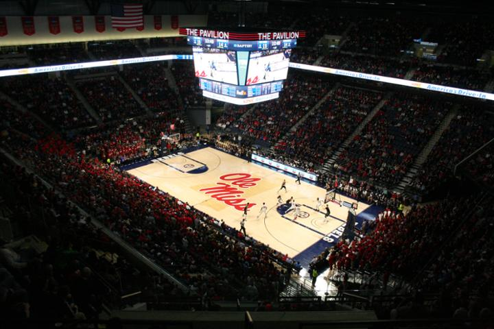 The Pavilion at Ole Miss – Mississippi Rebels