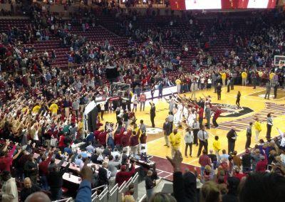 Colonial Life Arena, South Carolina Gamecocks Fans Sing the Alma Mater