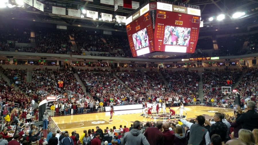 Colonial Life Arena, South Carolina Gamecocks in Action