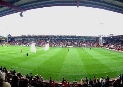 Panoramic Interior of Vitality Stadium