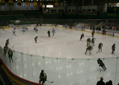Warmups at Berry Events Center