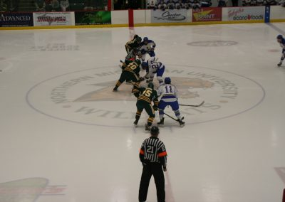 Faceoff at Berry Center