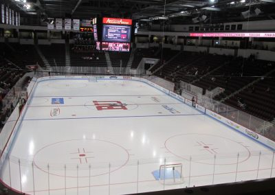 End View of Jack Parker Rink at Agganis Arena
