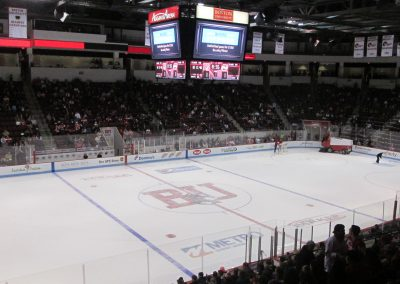 Zamboni Resurfaces the Ice at Agganis Arena