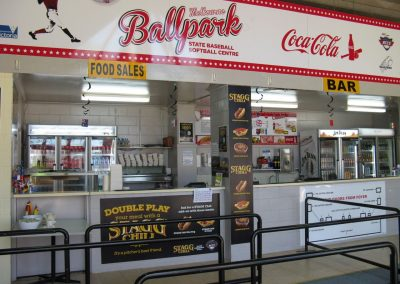 Concessions at Melbourne Ballpark