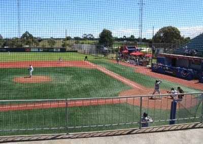 Melbourne Balllpark - View from Third Base Side