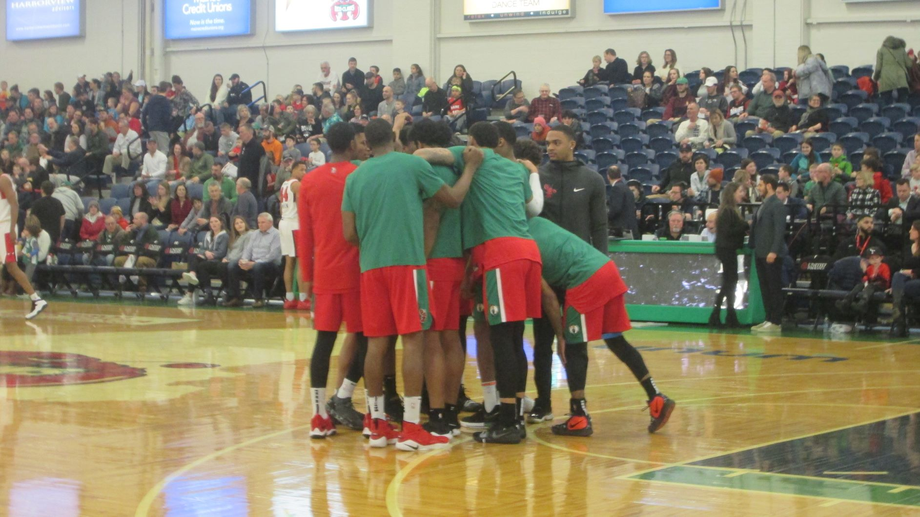 Portland Exposition Building Maine Red Claws Stadium Journey
