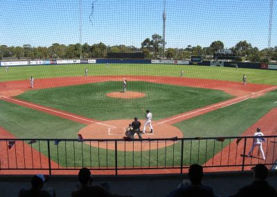 Melbourne Balllpark - Home of the Melbourne Aces