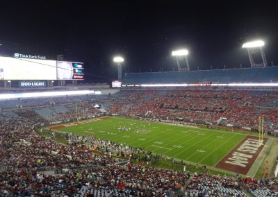 TIAA Bank Field Interior during the Gator Bowl