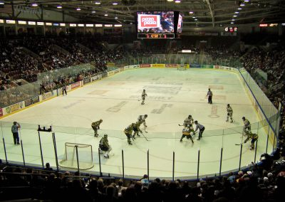 Game Action at Hershey Centre