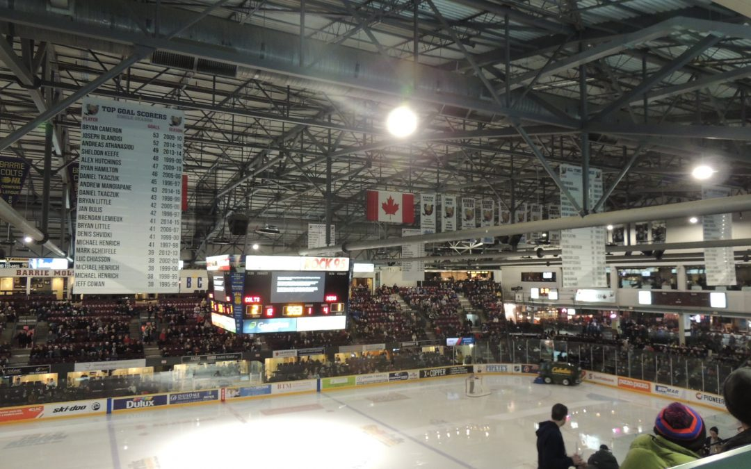 Barrie Molson Centre – Barrie Colts