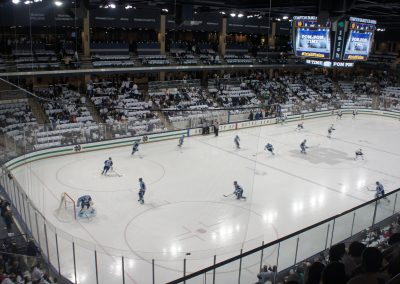 Game Action at Compton Ice Arena