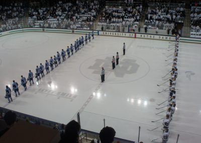 National Anthem at Compton Ice Arena