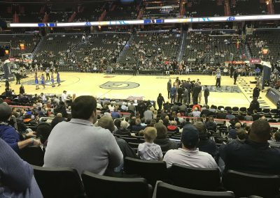 View from Center Court