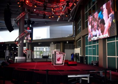 American Airlines Arena, Concert Stage Outside